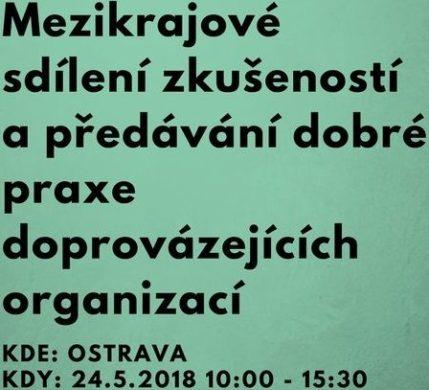Předávání dobré praxe mezi doprovázejícimi organizacemi z celé ČR