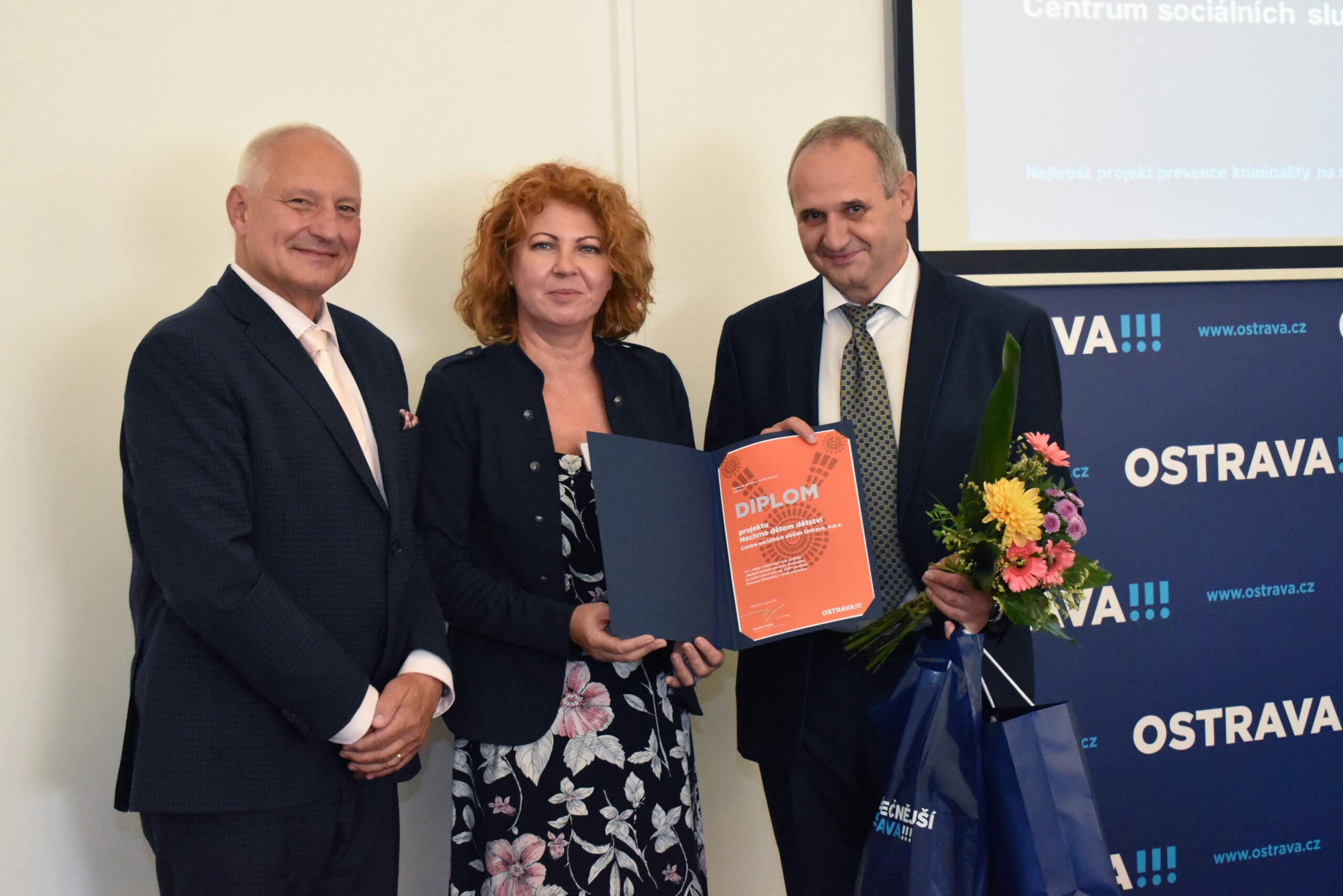 Ocenění statutárního města Ostrava